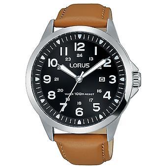 Lorus Herren Sport Leder Armband uhr (Modell Nr. RH933GX9)