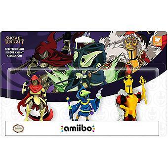 Nintendo Amiibo 3 Pack Shovel Knight (Specter Knight/Plague Knight/King Knight)
