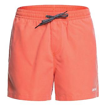 Quiksilver Surfwash Volley 15' Swim Shorts - Fiery Coral