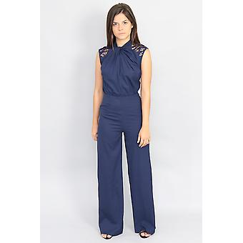 Adelaide chilli lace jumpsuit v88449