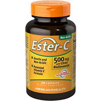 American Health Ester-c With Citrus Bioflavonoids, 500 mg, 60 Vegicaps