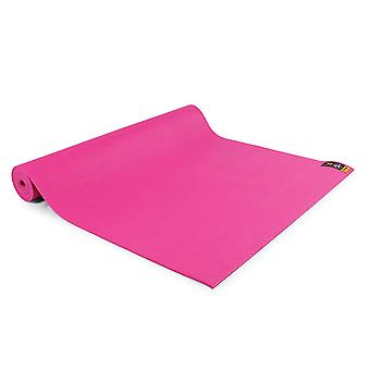 fitness mad warrior yoga ii mat 4mm hot pink for yoga and pilates