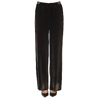 Nenah Ezgl572003 Women's Brown Viscose Pants