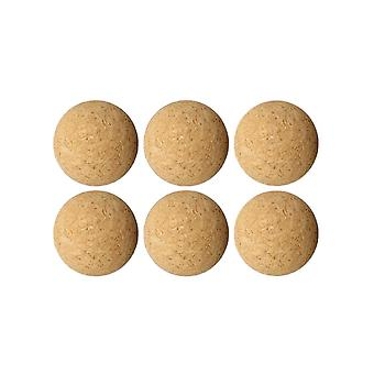 36mm Cork Solid Wooden Ball For Soccer Football Table Soccer