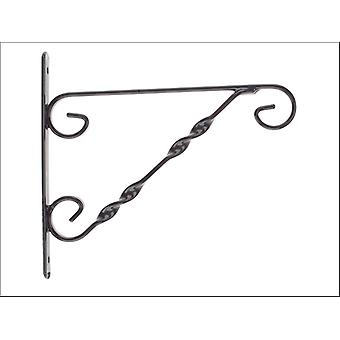 Gardman Hanging Basket Bracket Black 12-14in 03015