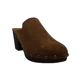 Style & Co. Womens trystan Leather Closed Toe Clogs