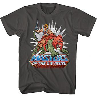 Masters of the Universe He-Man Riding Battle Cat T-Shirt