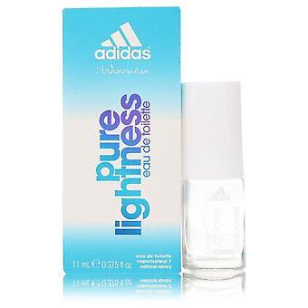 Adidas pure lightness eau de toilette spray by adidas 553879 11 ml