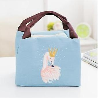 Baby Food Milk Insulation &flamingo Storage Waterproof Lunch Bag, Kids Food