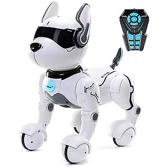 Top race tr-p5 remote control dog smart mini pet dancing to beat puppy dogs & imitates animals-rc ro