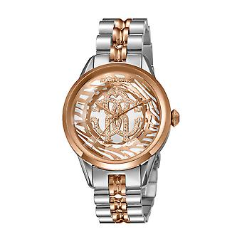 Roberto Cavalli Women's RC-77 Stainless Steel/RG Bracelet Watch