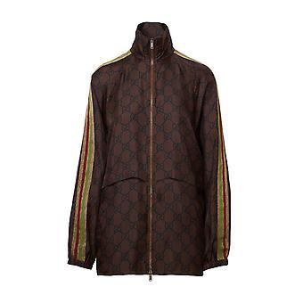 Gucci 625007xjcl52138 Damen's Braunseide Pullover