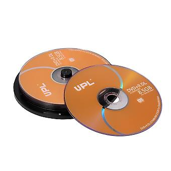 10pcs Dvd +r Dl 8.5gb 215min 8x Disco Dvd Compatible con hasta 8x DVD + R Dl