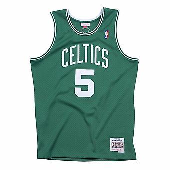 ミッチェル&ネス NBAボストンセルティックスケビンガーネットスイングマンSMJYGS18143BCEKYGN07KGAバスケットボールオール一年男子Tシャツ