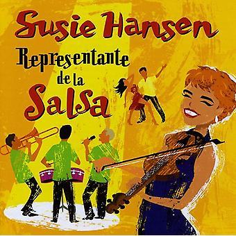 Susie Hansen - Representante De La Salsa [CD] USA tuonti