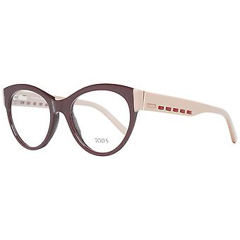 Tod's Brown Women Optical Frames