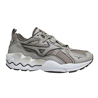 Mizuno Sport Style Wave Rider 1 Taupe Lace Up Mens Running Trainers D1GA192750