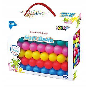 Labda gödör labdák - Játék golyó - 100 db - többszínű.