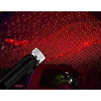 Led Car Roof Star Projector - Usb Laser Projection Night Light Lamp