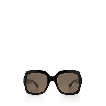 Gucci GG0036S sorte kvindelige solbriller