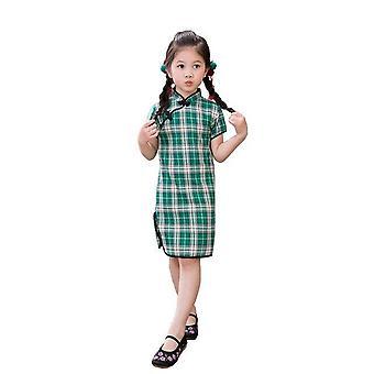 キパオ中国の旧正月清宗女の子ドレス -スタイル3