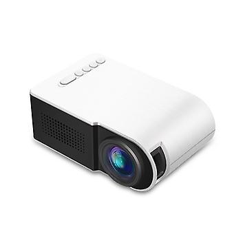 Yg210 1080P Led Mini Projektorin kontrasti 800:1 Tukee resoluutiota 1920 * 1080 Resoluutio 320 * 240 3D Ho
