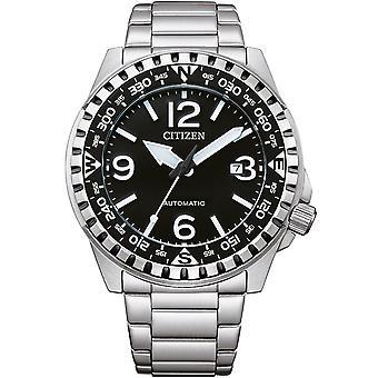 Męski zegarek Citizen NJ2190-85E, Automatyczny, 46mm, 10ATM