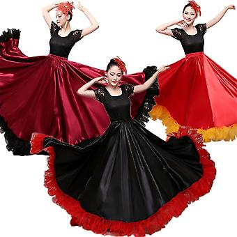 Flamenco Skirts Spanish Dress