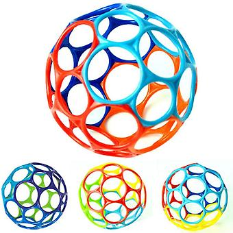 Large Rattle Kids Educational Grasping Holes Balls