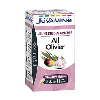 Youth of the Arteries - Garlic / Olivier 30 vegetable capsules