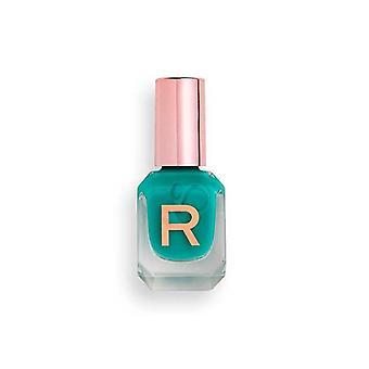 Makeup Revolution High Gloss Nail Polish 10ml - Jade