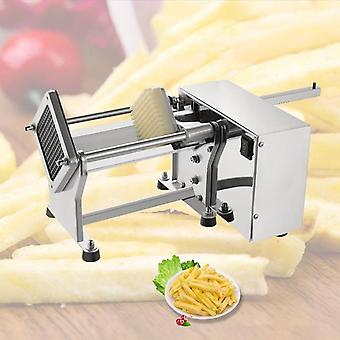 Electric Fries Cutter Stainless Steel Potato Chips Cutting Making Machine