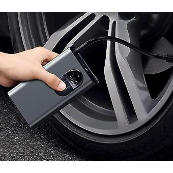 Car Air Compressor Smart Digital Tire Pressure Detection Auto Tire Pump For Car