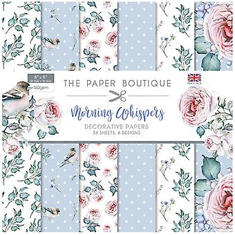 The Paper Boutique - Morning Whispers Collection - 8x8 Paper Pad