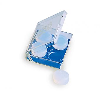 Zoggs Swim Silicone Ear Plugs - White