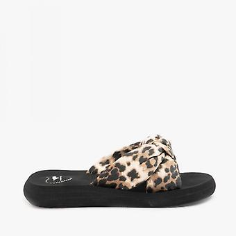 Rakethund Slade Veeno Leopard Damer Slide Sandaler Djur