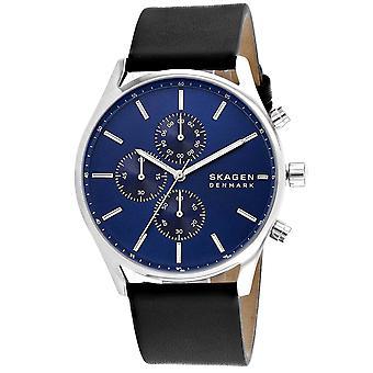 Skagen Men's Holst Blue Dial Watch - SKW6606