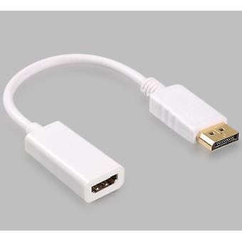 HDTV PC kijelző port DP férfi HDMI női audio video átalakító kábel adapter
