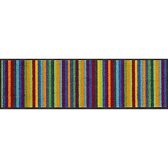 Salonloewe Lund färgglad dörrmatta tvättbar 030 x 100 cm