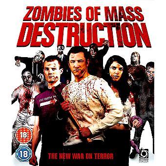 Zombies Of Mass Destruction Blu-Ray