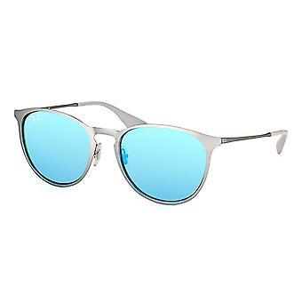 Ray-Ban Erika metal Gunmetal ochelari de soare RB3539-9015B4-54