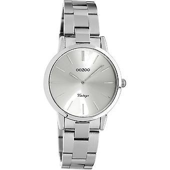 OOZOO Wristwatch Vintage Ladies Silver C20110