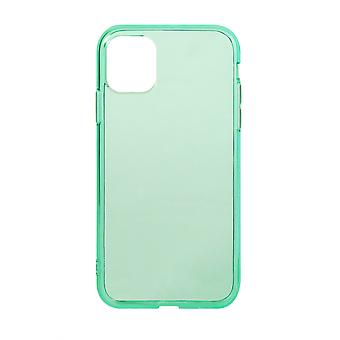 Phone Case (Green) Clear ShockProof Soft TPU Silicone For iPhone 11 Pro