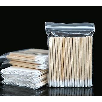 Wood Sticks Puuvillapyyhe Ripsien jatkotyökalut Lääketieteellinen korvanhoito Puhdistus