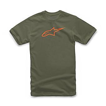 Alpinestars Herr&Apos;s T-Shirt ~ Ålderslös militär orange