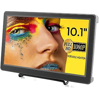 FengChun Raspberry Pi Display, 10,1 Zoll Portable Monitor 1920X1080p Auflösung HDMI VGA Monitor IPS