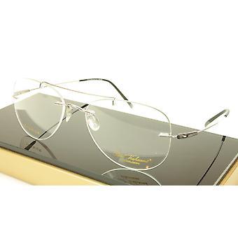 Paul Vosheront VT144 C2 Titanium Silver Eyeglasses Frame Italy Made