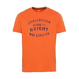 camel active 4096465T08 T-Shirt, Couleur: Orange, XXL Homme