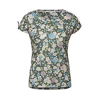 Cecil 316223 T-Shirt, Utility Olive, XXL Kvinna