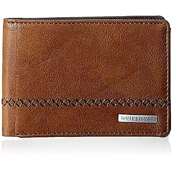 Quiksilver STITCHY, Men's Wallets, Chocolate Brown, Large